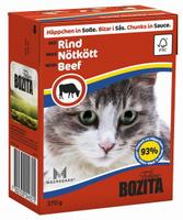 Консервы для кошек Bozita Feline, с говядиной в соусе, 370 г