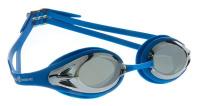 "Очки для плавания MadWave ""Alligator mirror"", цвет: синий"