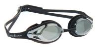"""Очки для плавания MadWave """"Alligator mirror"""", цвет: чёрный"""