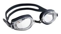Очки для плавания MadWave Stalker, цвет: черный, серый
