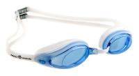 """Очки для плавания MadWave """"Vanish"""", цвет: белый"""