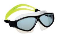 """Маска для плавания MadWave """"Flame Mask"""", цвет: зеленый, черный"""