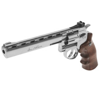 "Револьвер пневматический ASG ""Dan Wesson 8"" Silver"", калибр 4,5 мм"