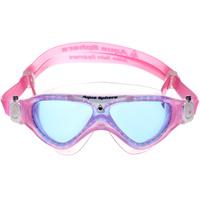 Очки для плавания Aqua Sphere Vista Junior, цвет: розовый, белый, синий