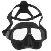 Маска для плавания Aqua Lung, цвет: черный