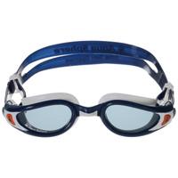 Очки для плавания Aqua Sphere Kaiman Exo, прозрачные линзы, цвет: синий, белый