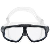 Очки для плавания Aqua Sphere Seal 2.0, цвет: черный, серебристый