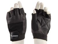 """Перчатки для фитнеса Larsen """"NT506"""", цвет: черный. Размер M"""