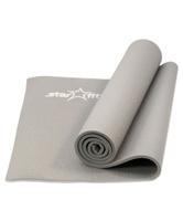 """Коврик для йоги Starfit """"FM-101"""", цвет: серый, 173 x 61 x 1 см"""