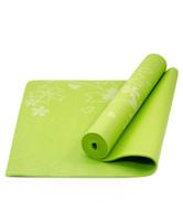 """Коврик для йоги Starfit """"FM-102"""", цвет: зеленый, 173 х 61 х 0,5 см"""