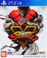 Игра Street Fighter V для PS4 Sony