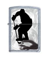 """Зажигалка Zippo """"Classic. Hockey"""", 3,6 х 1,2 х 5,6 см"""