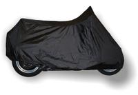 """Чехол """"AG-brand"""", для мотоцикла Harley-Davidson Fat Boy, с ветровым стеклом и кофрами, цвет: черный"""