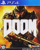 Игра DOOM для PS4 Sony