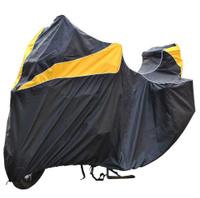 "Чехол ""AG-brand"", для мотоцикла BMW R 1200 GS Adventure, цвет: черный, желтый"