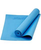 """Коврик для йоги Starfit """"FM-101"""", цвет: синий, 173 х 61 х 0,3 см"""