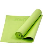 "Коврик для йоги Starfit ""FM-101"", цвет: зеленый, 173 x 61 x 0,8 см"