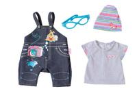 Baby Born Комплект джинсовой одежды для куклы 822-210
