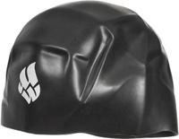 Шапочка для плавания Mad Wave R-Cap Fina Approved L, цвет: черный
