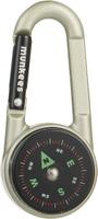 "Карабин ""Munkees"", с компасом и термометром"