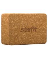 "Блок для йоги Starfit ""FA-102"", цвет: светло-коричневый, 22,5 х 15 х 7,8 см"