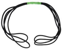 """Эспандер Start Up """"Грация"""", цвет: зеленый, черный, длина 1 м"""