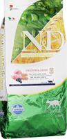 Корм сухой для взрослых кошек Farmina N&D, низкозерновой, с ягненком и черникой, 10 кг