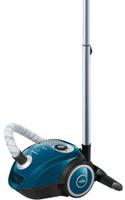 Бытовой пылесос Bosch BGL252000, синий, черный