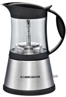 Кофеварка гейзерная электрическая Rommelsbacher EKO 376/G, Silver, эспрессо