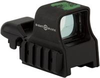 Прицел коллиматорный Sightmark, панорамный на Weaver/Picatinny, со сменной маркой, SM13005Z, черный