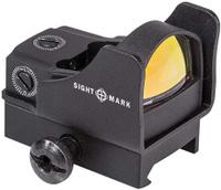 Прицел коллиматорный Sightmark Mini, панорамный на Weaver/Picatinny, SM260061, 5МОА, черный