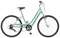 """Велосипед городской Schwinn """"Suburban"""", женский, рама 16"""", колеса 26"""", 7 скоростей, цвет: голубой, 7 скоростей"""