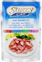 Консервы для кошек Stuzzy Stuzzy Cat, с треской, 100 г