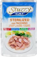 Консервы Stuzzy Cat. Sterilized, для стерилизованных кошек, с индейкой, 100 г