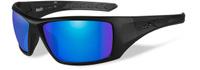 """Очки солнцезащитные WileyX """"Nash Polarized"""", для охоты, рыбалки и активного отдыха, цвет: Blue Mirror, Green"""