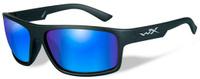 """Очки солнцезащитные WileyX """"Peak Polarized"""", для охоты, рыбалки и активного отдыха, цвет: Blue Mirror, Green"""