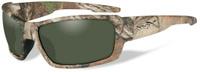 """Очки солнцезащитные WileyX """"Rebel Polarized"""", для охоты, рыбалки и активного отдыха, цвет: Smoke Green"""