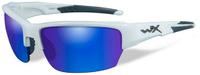 """Очки солнцезащитные WileyX """"Saint Polarized"""", для охоты, рыбалки и активного отдыха, цвет: Blue Mirror, Green"""