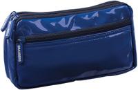 Brauberg Пенал-косметичка Милан цвет синий 224039