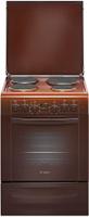 Gefest 6140-03 0001, Brown плита электрическая