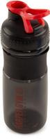 "Шейкер Harper Gym ""Shaker Bottle"", с венчиком, цвет: черный, 700 мл"