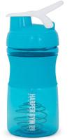 "Шейкер Harper Gym ""Shaker Bottle"", с венчиком, цвет: голубой, 500 мл"