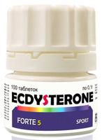 "Средство для повышения тестостерона bbb ""Ecdysterone Forte 5 Sport Basic Formula"", 100 таблеток"