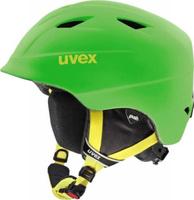 """Шлем горнолыжный детский Uvex """"Airwing 2"""", цвет: зеленый матовый. Размер XXXS/XXS"""