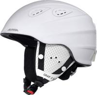"""Шлем горнолыжный Alpina """"Grap 2.0"""", цвет: белый. A9085_12. Размер 57-61"""