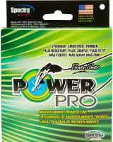 """Леска плетеная """"Power Pro"""", цвет: зеленый, 135 м, 0,19 мм, 13 кг"""