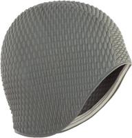 Шапочка для плавания Larsen Бабл-кап, цвет: серый