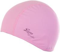 Шапочка для плавания Larsen Ladies, цвет: розовый