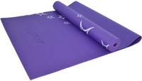 """Коврик для йоги Starfit """"FM-102"""", цвет: фиолетовый, 173 х 61 х 0,5 см"""
