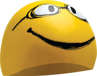 "Шапочка для плавания Tyr ""Have A Nice Day"", цвет: желтый. LCSMILEY"